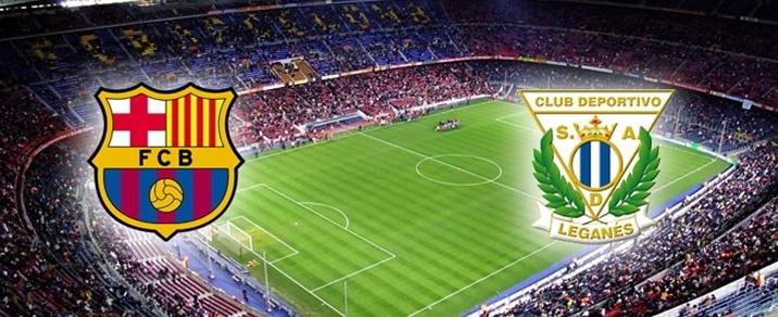 07/04/2018 FC Barcelona vs CD LeganesSpanish League