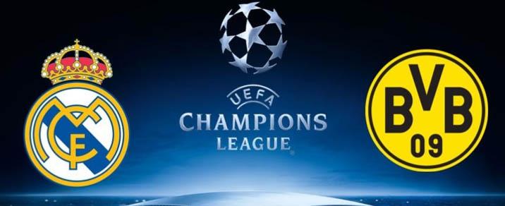 06/12/2017 Real Madrid vs Borussia DortmundChampions League