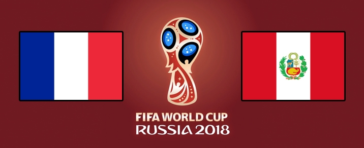 21/06/2018 France vs PeruWorld Cup 2018 - Group Stages