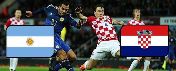 21/06/2018 Argentina vs CroatiaWorld Cup 2018 - Group Stages