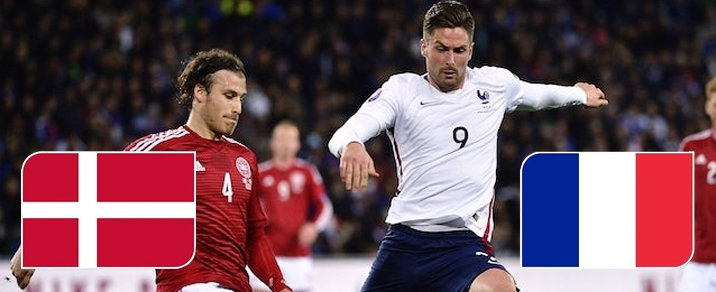 26/06/2018 Denmark vs FranceWorld Cup 2018 - Group Stages