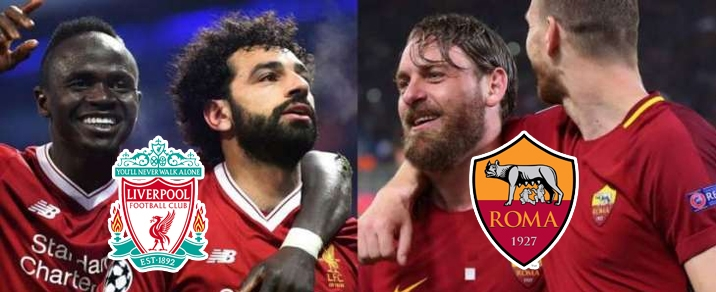 24/04/2018 Liverpool vs AS RomaChampions League