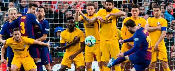 06/04/2019 FC Barcelona vs Atlético de MadridSpanish League